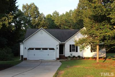 Johnston County Single Family Home For Sale: 115 Sunrise Circle