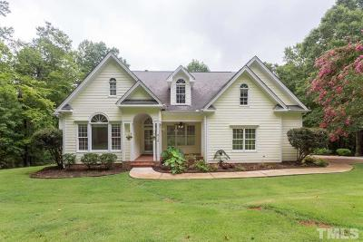 Chapel Hill Single Family Home For Sale: 916 Windy Ridge Road