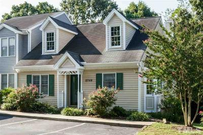 Raleigh NC Townhouse For Sale: $197,000