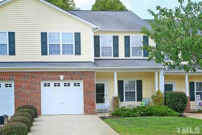 Holly Springs Townhouse For Sale: 224 Cline Falls Drive