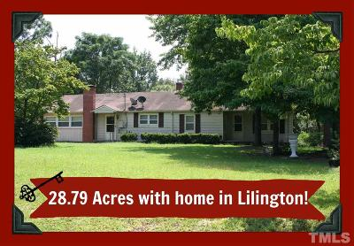 Lillington Single Family Home For Sale: 941 Grameta Lane