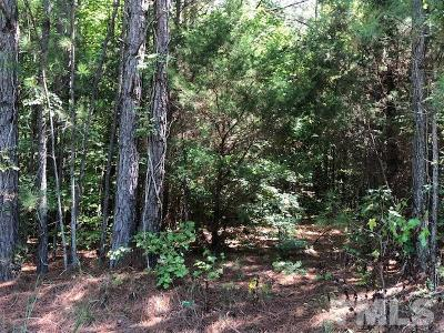 Granville County Residential Lots & Land For Sale: Sam Hall Road