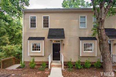 Raleigh NC Townhouse For Sale: $175,000
