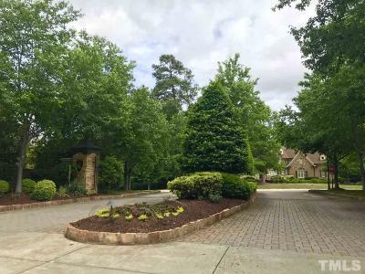 Wake County Residential Lots & Land For Sale: 1001 Clovelly Court