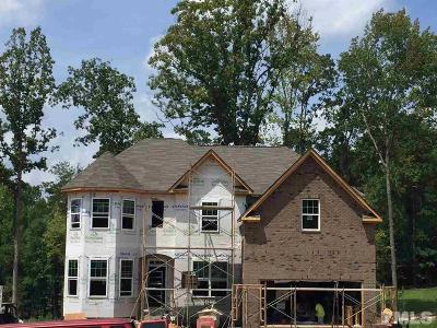 Durham Single Family Home Pending: 1023 Valley Rose Way #Homesite