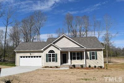 Johnston County Single Family Home For Sale: 199 Soaring Eagle Trail