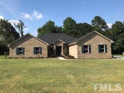 Harnett County Single Family Home For Sale: 245 Planters Lane #LOT 8