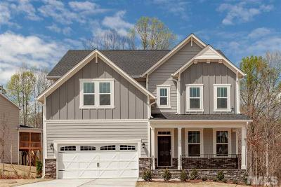 Wake County Single Family Home Contingent: 4816 Sunset Stream Drive #Lot 8