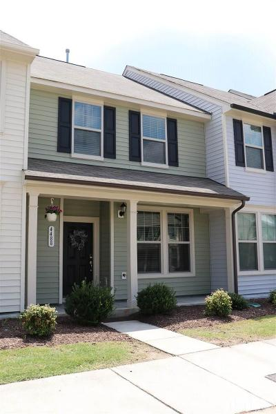 Wake Forest NC Townhouse For Sale: $165,000