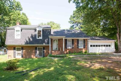 Raleigh Single Family Home For Sale: 1305 Manovill Place