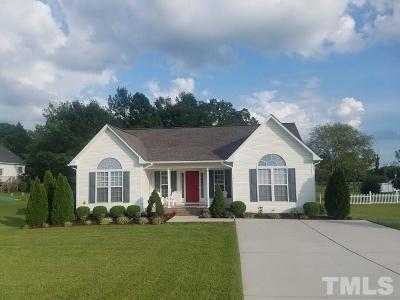 Angier Single Family Home Contingent: 45 Packhouse Court
