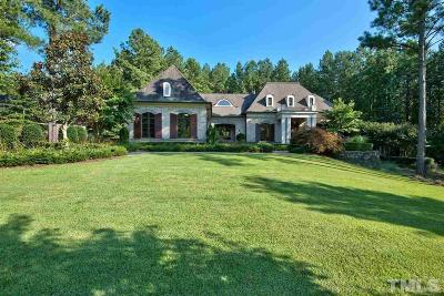 Pittsboro Single Family Home For Sale: 154 Berry Patch Lane