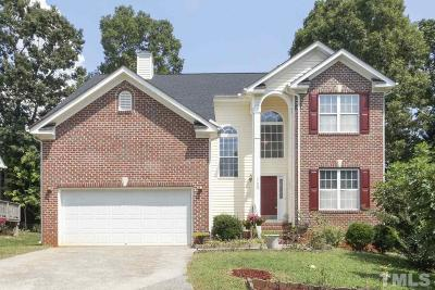 Raleigh Single Family Home For Sale: 2409 Purple Martin Lane