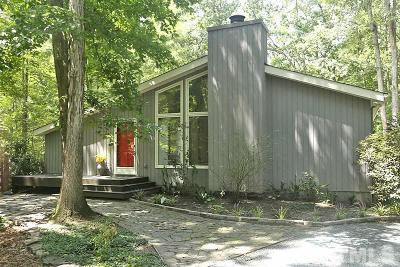 Chapel Hill Single Family Home Contingent: 112 Hunter Hill Road