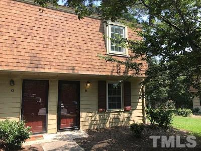 Raleigh NC Condo For Sale: $129,000