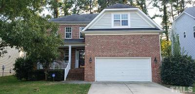 Wake Forest Single Family Home For Sale: 3920 Song Sparrow Drive