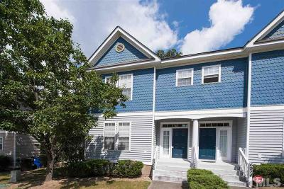 Raleigh NC Townhouse For Sale: $162,000