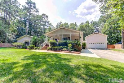 Wake County Single Family Home For Sale: 2541 Countrywood Road