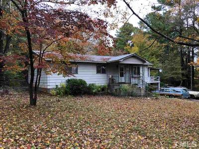 Wake Forest Single Family Home For Sale: 1365 Wait Avenue