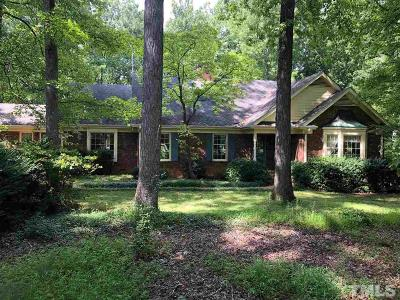 Chapel Hill Single Family Home Contingent: 406 Homestead Road