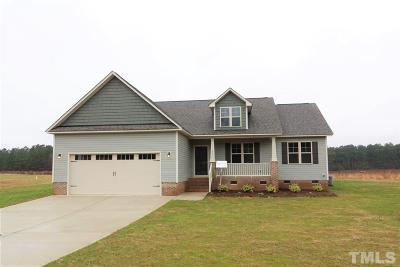 Zebulon Single Family Home For Sale: 60 Connelly Way