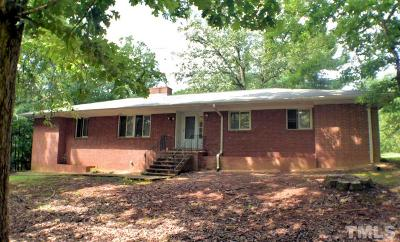 Hillsborough Single Family Home For Sale: 508 Nc 86 N Highway