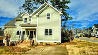 Raleigh Single Family Home For Sale: 809 Edmund Street