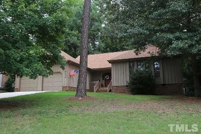 Raleigh Single Family Home For Sale: 2100 Hamrick Drive