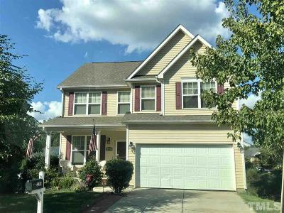 Wake County Single Family Home Pending: 220 Talley Ridge Drive