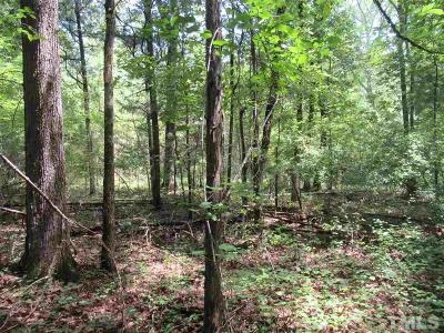 Pittsboro Residential Lots & Land For Sale: 848 Dorcurt Hills Road