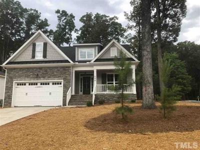Pittsboro Single Family Home For Sale: 248 Chatham Mill Road