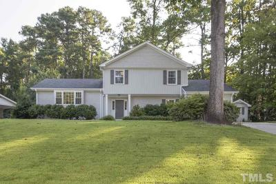 Raleigh Single Family Home For Sale: 7708 Vauxhill Drive
