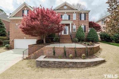 Raleigh Single Family Home Contingent: 12117 Pawleys Mill Circle