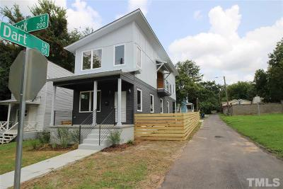 Raleigh Single Family Home For Sale: 218 Heck Street