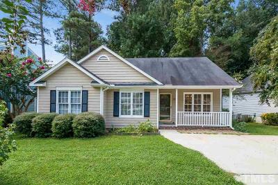 Wake Forest Single Family Home For Sale: 707 St Catherines Drive