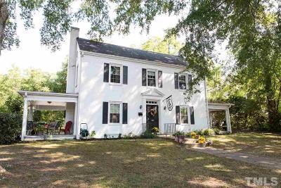 Louisburg Single Family Home For Sale: 510 E Nash Street
