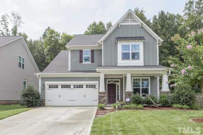 Pittsboro Single Family Home For Sale: 112 Freeman Drive