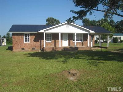 Dunn Single Family Home For Sale: 2479 Erwin Chapel Road