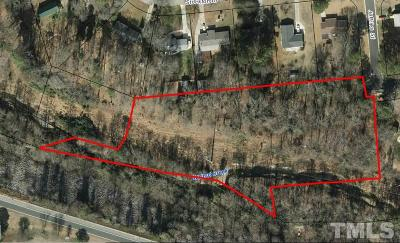 Raleigh Residential Lots & Land For Sale: 835 Buck Jones Road