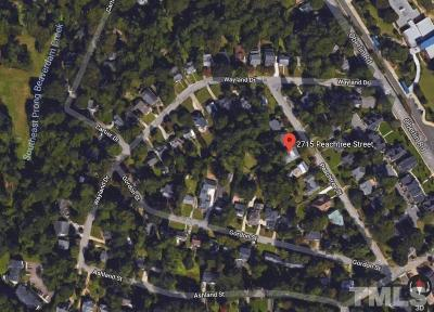 Wake County Residential Lots & Land For Sale: 2715 Peachtree Street