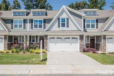 Wake Forest Townhouse For Sale: 1833 Grandmaster Way
