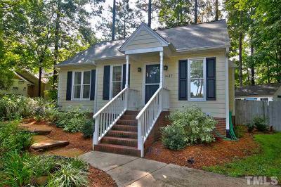 Wake Forest Single Family Home Contingent: 1437 Cedar Branch Court