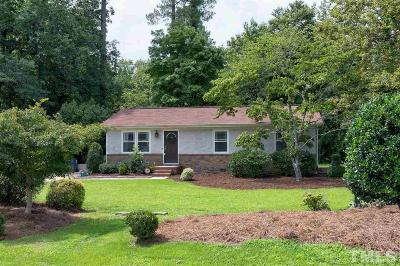 Apex Single Family Home Contingent: 2650 Meyerswood Drive