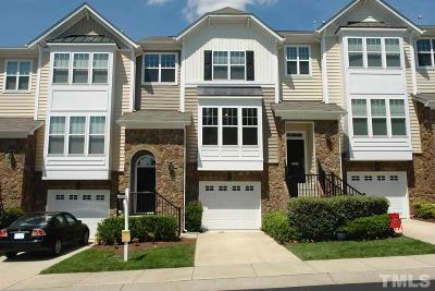 Raleigh NC Townhouse For Sale: $289,900