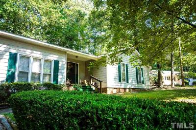 Garner Single Family Home Pending: 107 Belcross Court