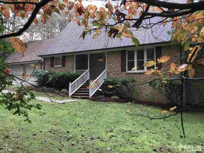 Zebulon Single Family Home For Sale: 1817 E Nc 97 Highway
