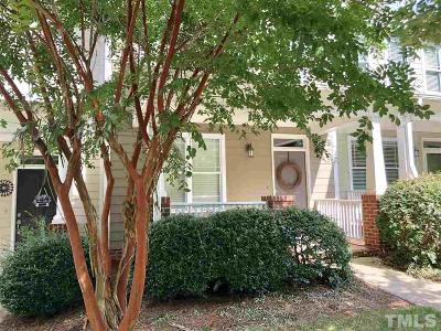 Pittsboro Townhouse Contingent: 136 Millbrook Drive