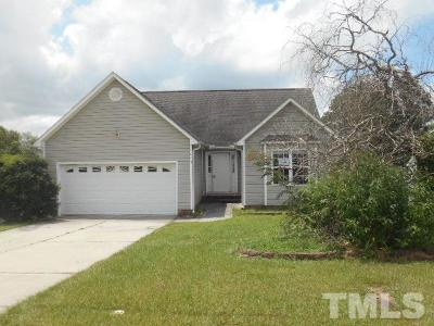 Dunn Single Family Home Pending: 1615 Friendly Road