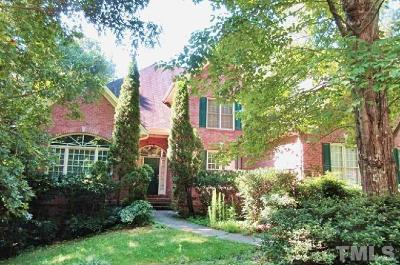 Raleigh Single Family Home For Sale: 1205 Tacketts Pond Drive
