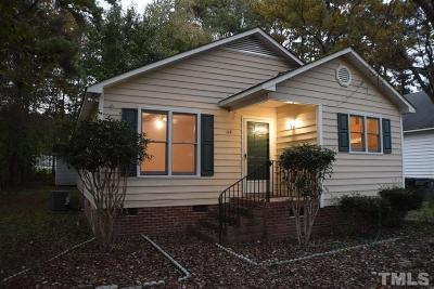 Knightdale Single Family Home For Sale: 117 Jutson Street